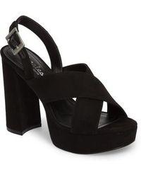 Charles David - Jagger Platform Sandal - Lyst