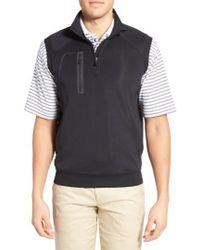 Bobby Jones - Xh2o Crawford Stretch Quarter Zip Golf Vest - Lyst