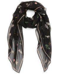 Alexander McQueen - Medieval Flower Silk Scarf - Lyst
