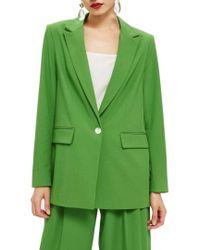 TOPSHOP - Oversize Suit Jacket - Lyst