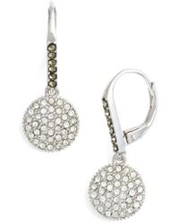 Judith Jack - Round Drop Earrings - Lyst