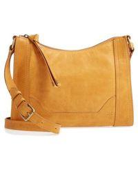 Frye - Melissa Leather Crossbody Bag - Metallic - Lyst