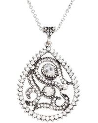Sareh Nouri - Dena Paisley Teardrop Pendant Necklace - Lyst