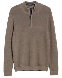 Ted Baker - Lohas Slim Fit Funnel Neck Sweater - Lyst