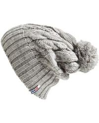 Helly Hansen - 'montreal' Chunky Knit Beanie - Lyst