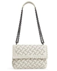 Bottega Veneta - Small Olympia Studded Leather Shoulder Bag - - Lyst