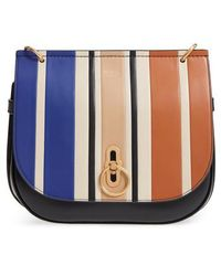 Mulberry | Amberley Colorblock Leather Shoulder Bag | Lyst