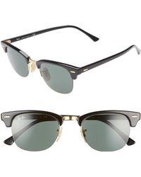 1e51f62a029eb Lyst - Ray-Ban 48mm Gradient Clubmaster Sunglasses