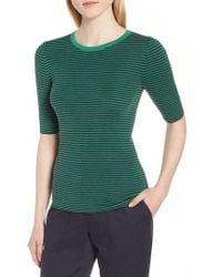 Nordstrom - Stripe Crewneck Sweater - Lyst