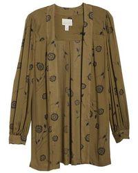 Hinge - Embellished Floral Kimono - Lyst