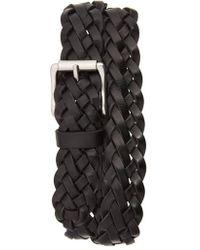 Frye | Woven Leather Belt | Lyst