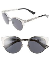Dior - Ama Mini 54mm Mirrored Lens Cat Eye Sunglasses - - Lyst
