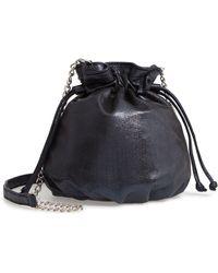 Chelsea28 - Phoebe Mini Metallic Bucket Bag - - Lyst