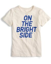 J.Crew | J.crew On The Bright Side Tee | Lyst