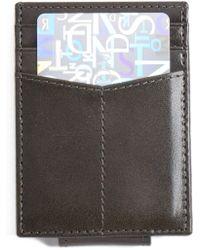Johnston & Murphy - Leather Money Clip Card Case - Lyst