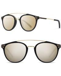 Shwood - Kinsrow 49mm Acetate & Wood Sunglasses - Lyst
