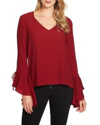1.STATE   Cascade Sleeve Blouse   Lyst