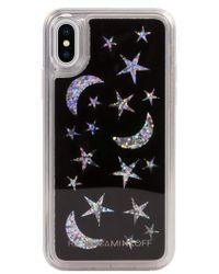 Rebecca Minkoff - See Through Me Glitter Galaxy Iphone X Case - - Lyst