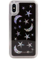 Rebecca Minkoff - See Through Me Glitter Galaxy Iphone X & Xs Case - - Lyst