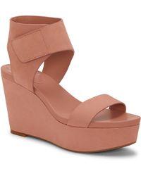 Vince Camuto - Velista Platform Wedge Sandal - Lyst