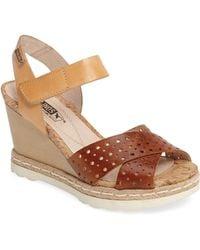 Pikolinos - Bali Wedge Sandal - Lyst