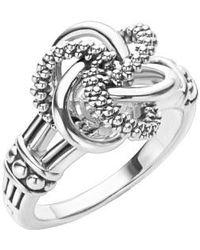 Lagos - 'love Knot' Ring - Lyst