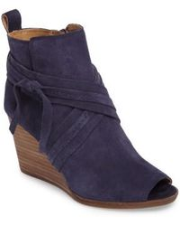 Lucky Brand - Udom Wedge Bootie - Lyst
