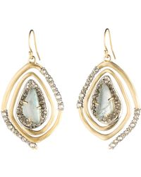 Alexis Bittar - Spiral Drop Earrings - Lyst