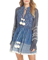 Hemant & Nandita - Hemant & Nandita Cover-up Dress - Lyst