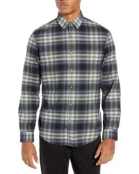 Calibrate - Plaid Flannel Sport Shirt - Lyst