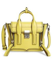 3.1 Phillip Lim - Mini Pashli Leather Satchel - - Lyst