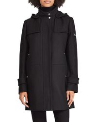 Lauren by Ralph Lauren - Wool Blend Jacket - Lyst
