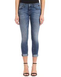 Mavi Jeans - Lexy Crystal Sparkle Jeans - Lyst
