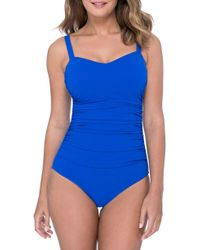 Gottex - Wide Strap One-piece Swimsuit - Lyst