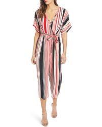 423fbb940f27 Band Of Gypsies - Capetown Wide Leg Jumpsuit - Lyst