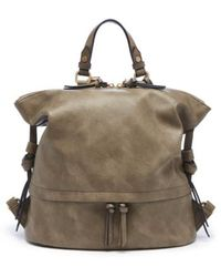 Sole Society - Josah Faux Leather Backpack - Lyst