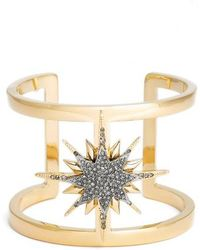 Vince Camuto - Crystal Cuff - Lyst
