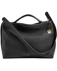 Skagen - Mikkeline Leather Satchel - Lyst