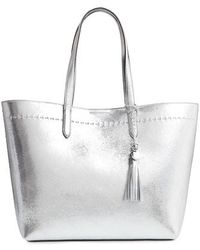 Cole Haan - Payson Metallic Leather Tote - Metallic - Lyst