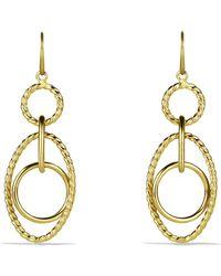 David Yurman - 'mobile' Small Link Earrings In Gold - Lyst