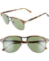 2009c6ffcdcaa Lyst - Prada Double Bar Aviator Sunglasses in Metallic