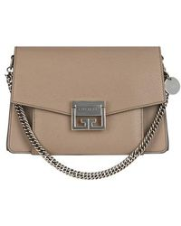 Givenchy - Small Gv3 Leather Crossbody Bag - Lyst