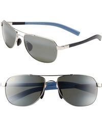 Maui Jim - 'maui Flex - Polarizedplus2' 56mm Aviator Sunglasses - Lyst