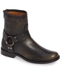 Frye - 'phillip' Harness Boot - Lyst