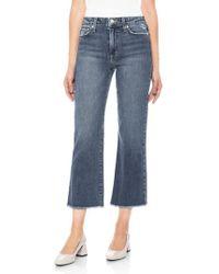 Joe's - Wyatt Crop Wide Leg Jeans - Lyst