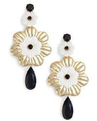 Kate Spade | Posy Grove Statement Earrings | Lyst