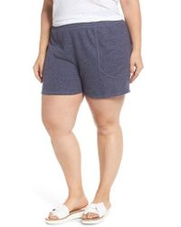 Caslon - Caslon French Terry Shorts - Lyst