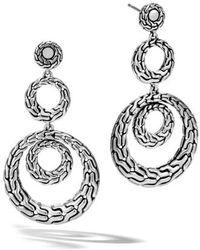 John Hardy | Classic Chain Drop Earrings | Lyst