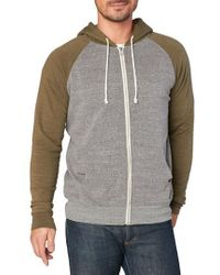 Threads For Thought - Raglan Hoodie - Lyst