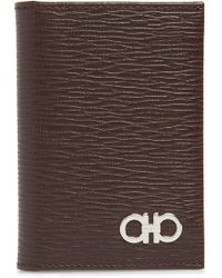 Ferragamo - Revival Leather Card Case - Lyst